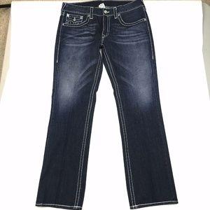 True Religion Flap Pocket Jeans Sz 36
